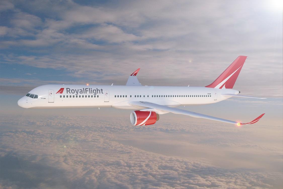 Он-лайн регистрация Royal Flight